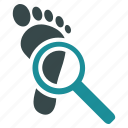 audit, check, eye, financial, glass, magnifying, search icon