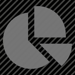 graph, pie chart icon
