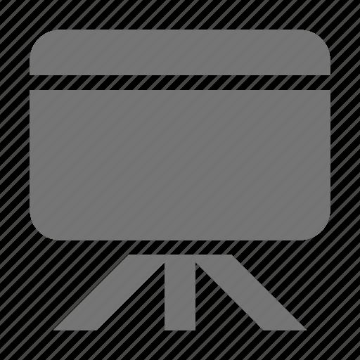 blackboard, business, whiteboard icon