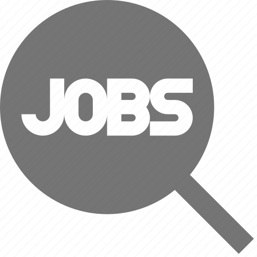 job, search, view icon