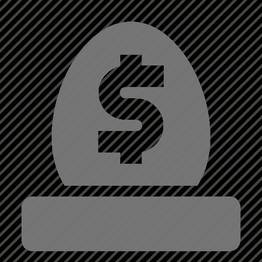 egg, money, nest egg icon