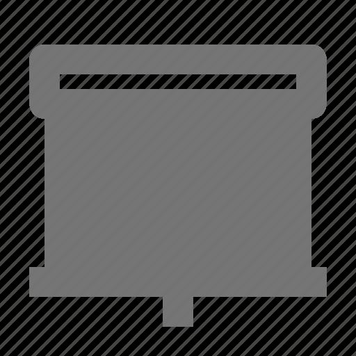 projector, screen icon