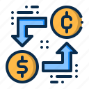 business, convert, currency, exchange, money icon