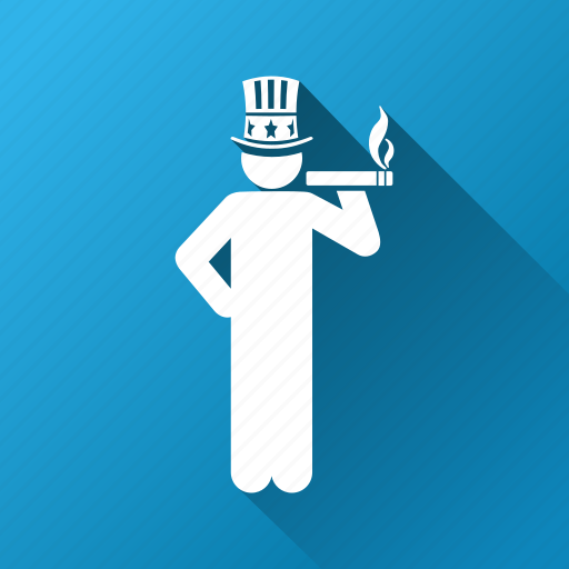 american capitalist, banker, business man, businessman, financial, government, uncle sam icon