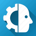 automatic, cyber, cyborg, machine, robo, robot, robotics icon