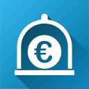 currency, euro standard, finance, financial, money, safe, storage icon