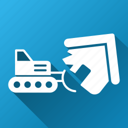 break, bulldozer, crash, disaster, engineering, house demolition, remove home icon