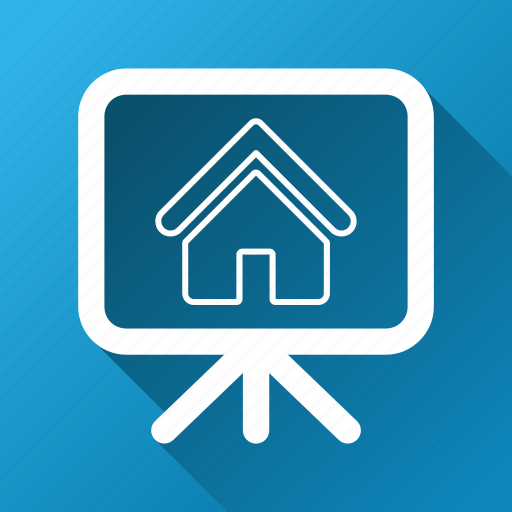 architecture, building, engineering, house, presentation, realty project, structure icon