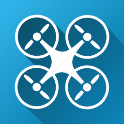 air drone, copter, nanocopter, quadcopter, radio control uav, rotorcraft, unmanned aerial vehicle icon