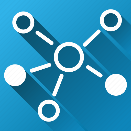 connect, connection, graph, group, links, relations, structure icon