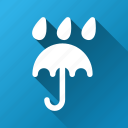 accessory, autumn, comfort, rain, rainy, umbrella, weather icon
