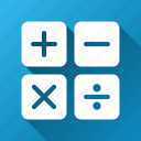 accounting, balance, calc, calculate, calculation, calculator, count icon