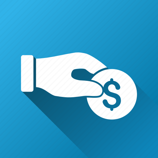 coin, donation, finance, money, pay, payment, salary icon