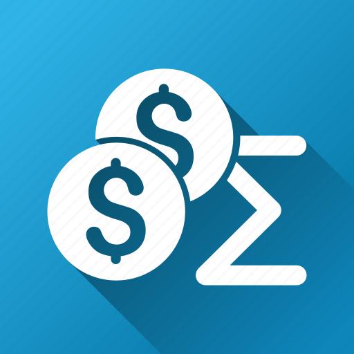 accounting, math, mathematics, money, result, sum, summary icon