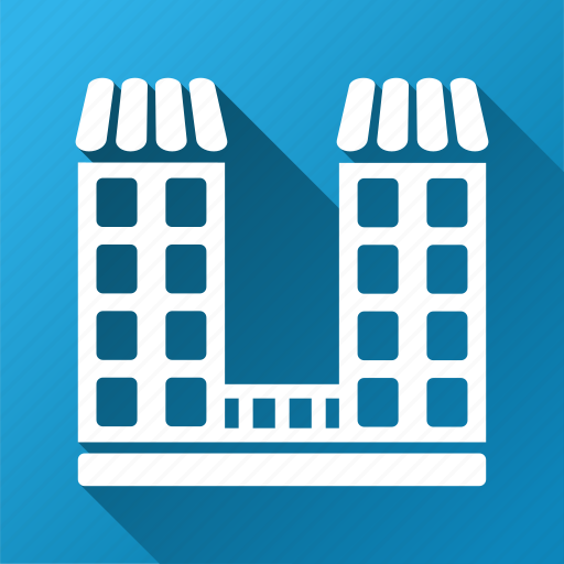 company building, home, house, office, organization, real estate, skyscraper icon