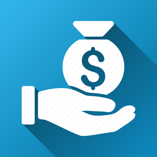 bank, buy, finance, money bag, pay, payment, salary icon