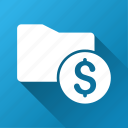 billfold, file, finance, folder, money, purse, wallet icon