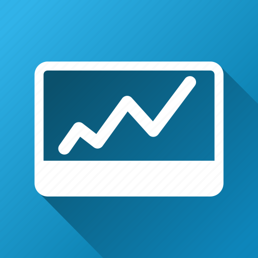 analytics, chart, graph, report, statistics, stock market, trend icon