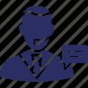 client support, consultant, customer representative, customer support, help center icon