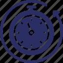 chronometer, timer, timeframe, timepiece, timekeeper icon