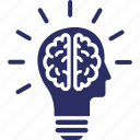 brain, idea, mind, innovation, thinking icon