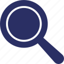 loupe, magnifier, magnifying lens, search tool, searching icon