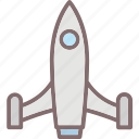 launch, missile, rocket, space, startup