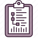 brief, document, list, planning, project, strategy icon