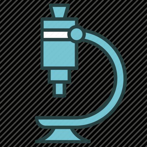 chemistry, examine, experiment, laboratory, microscope, research, science icon