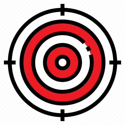 arrow, business, dart, success, target icon