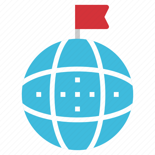 business, connection, earth, flag, global icon