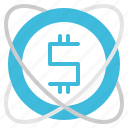business, coin, earning, income, money icon