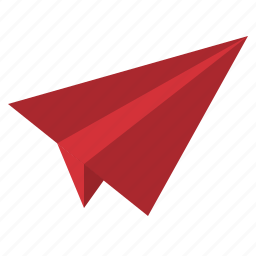 aircraft, fly, paper, plane, startup icon