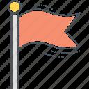 flag, banner, bunting