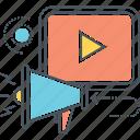 advertising, digital marketing, marketing, online ads, online advertisement, online advertising, online marketing icon