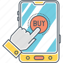 buy, cart, ecommerce app, mobile shopping, online shopping, shopping app, shopping cart icon
