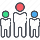 building, groups, leadership icon, people, team, team building icon