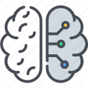 artificial, intelligence, learning, machine icon, machine learning