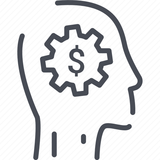 currency, head, making, making money, management, mind, money icon