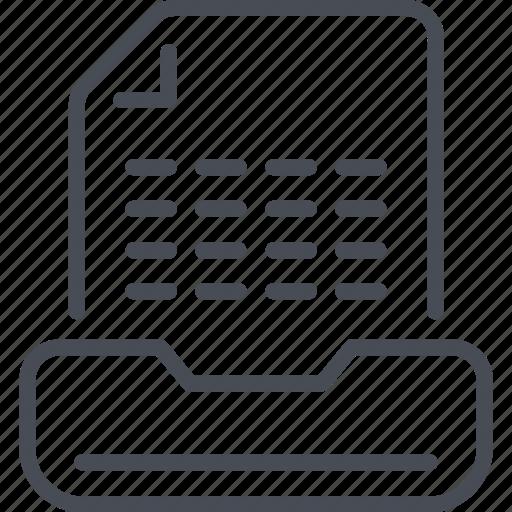 Big data, cdn, document, file, information icon - Download on Iconfinder