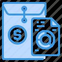 business, envelope, financial, graph, report