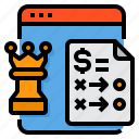 browser, chess, paper, plan, strategy