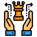 business, chess, financial, hand, strategy