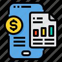 data, graph, report, smartphone, analytics