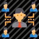 businessman, connection, network, partnership, teamwork