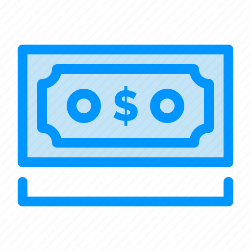 currency, dollar, money, note, payment icon