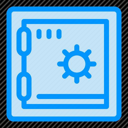 Bank, deposit, safe icon - Download on Iconfinder