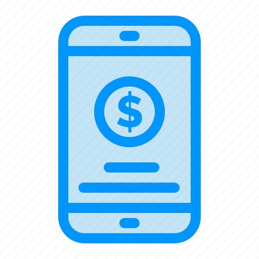Mobile, money, payment icon - Download on Iconfinder