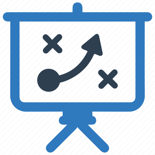 blackboard, conference, efficiency, marketing, plan, strategy, training icon