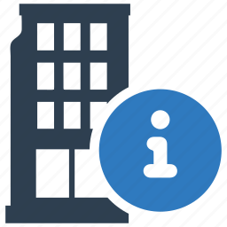 building, company, corporation, information, public relations, skyscraper icon